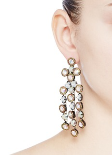 J.CREW Cascade crystal earrings