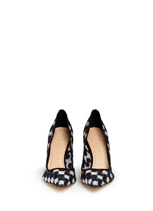 Figure View - Click To Enlarge - J CREW SHOES - Collection Elsie circle lace pumps