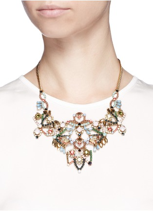 Figure View - Click To Enlarge - J.CREW - Crystal lace necklace