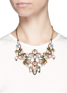 J.CREWCrystal lace necklace