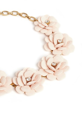 Detail View - Click To Enlarge - J.CREW - Beaded rose necklace