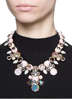 J.CREWPowder crystal necklace