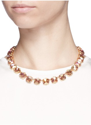 Figure View - Click To Enlarge - J.CREW - Faceted cone necklace