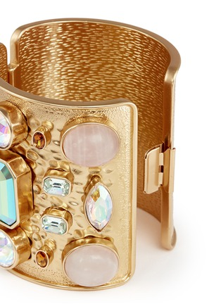 Detail View - Click To Enlarge - J.CREW - Wide crystal cuff bracelet