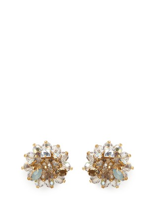 Main View - Click To Enlarge - J.CREW - Jeweled geometric earrings