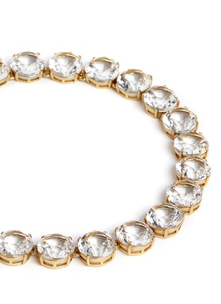 Detail View - Click To Enlarge - J.CREW - Classic crystal necklace