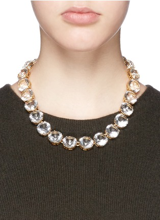 Figure View - Click To Enlarge - J.CREW - Classic crystal necklace