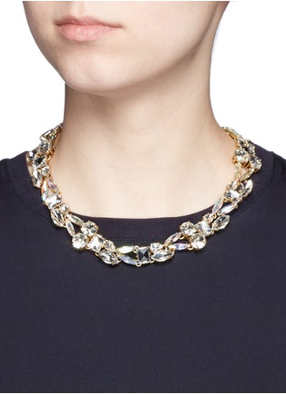 Figure View - Click To Enlarge - J.CREW - Mixed crystal necklace