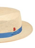 Après-Midi' open weave straw Panama hat