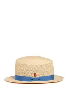 MY BOBAprès-Midi' open weave straw Panama hat