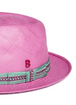 '24 Hours' braided band Panama hat