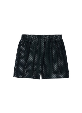 Main View - Click To Enlarge - Sunspel - Circle dot print boxer shorts