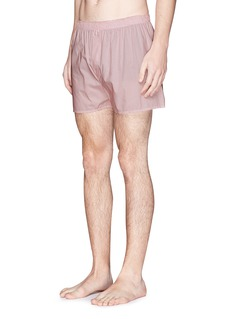 SunspelDash dot print boxer shorts