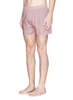 Dash dot print boxer shorts
