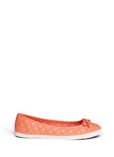 TORY BURCH'Skyler' quilted nappa leather flats