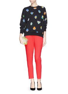 STELLA MCCARTNEY'Superstellaheroes' mask print sweatshirt