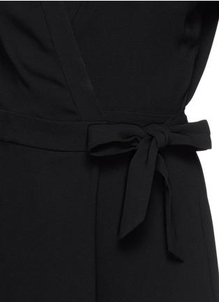 Detail View - Click To Enlarge - DIANE VON FURSTENBERG - 'Celeste' silk jersey romper