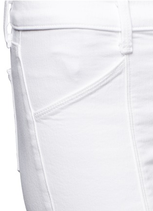 Detail View - Click To Enlarge - J Brand - Photo Ready Kassidy skinny zip utility jeans