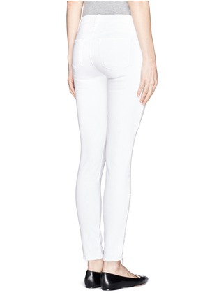 Back View - Click To Enlarge - J Brand - Photo Ready Kassidy skinny zip utility jeans