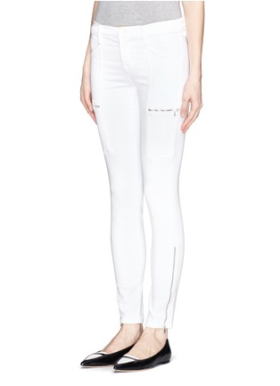 Front View - Click To Enlarge - J Brand - Photo Ready Kassidy skinny zip utility jeans