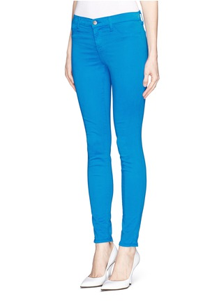 Front View - Click To Enlarge - J Brand - Luxe Sateen Super Skinny jeans