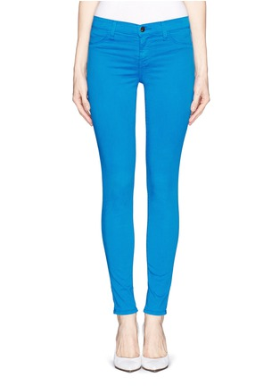 Main View - Click To Enlarge - J Brand - Luxe Sateen Super Skinny jeans