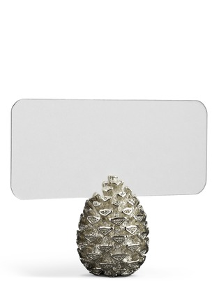 Detail View - Click To Enlarge - L'Objet - Pinecone place card holder set