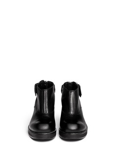 MCQ ALEXANDER MCQUEEN 'Liesa' buckle leather booties