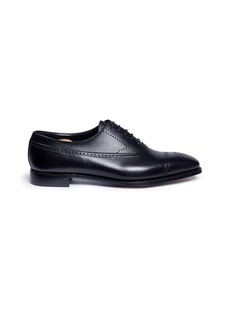George Cleverley'Edward' brogue leather Oxfords
