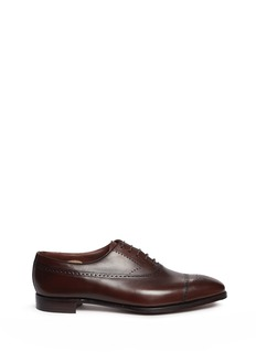 George Cleverley 'Edward' longwing brogue leather Oxfords