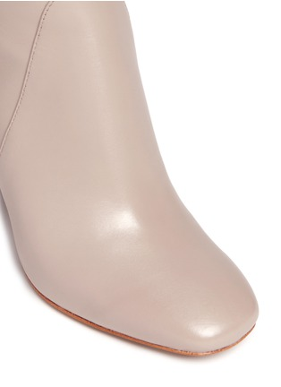 Detail View - Click To Enlarge - 10 Crosby Derek Lam - 'Alma' wooden heel nappa leather boots