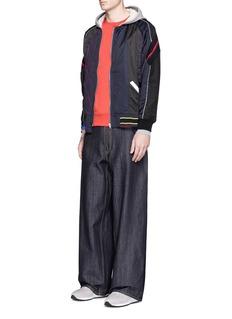 FACETASMOversized cotton denim jeans