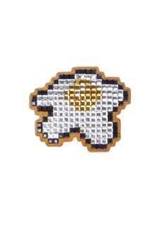 Anya Hindmarch 'Egg' diamanté embellished sticker