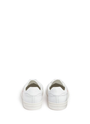 Back View - Click To Enlarge - Anya Hindmarch - 'Space Invaders' embossed leather sneakers