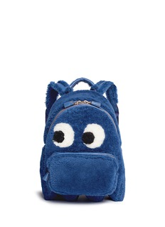 Anya Hindmarch 'Ghost' mini shearling backpack