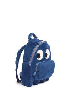 Anya Hindmarch'Ghost' mini shearling backpack