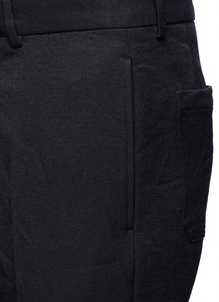 Detail View - Click To Enlarge - Marni - Slim fit rolled cuff pants
