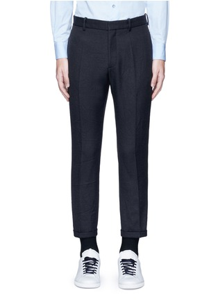 Main View - Click To Enlarge - Marni - Slim fit rolled cuff pants