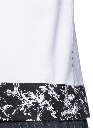 Detail View - Click To Enlarge - Marni - Floral print cotton T-shirt