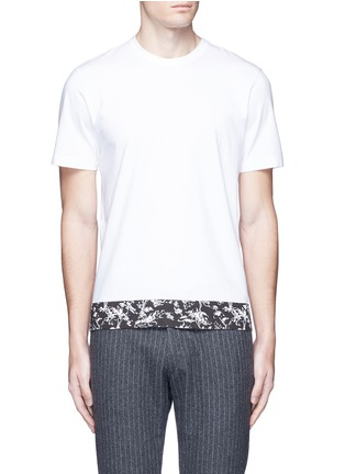 Marni-Floral print cotton T-shirt