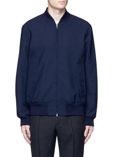 MarniWool gabardine bomber jacket
