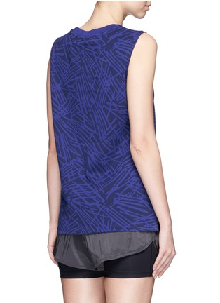 Back View - Click To Enlarge - Nike - Abstract print cotton muscle tank top