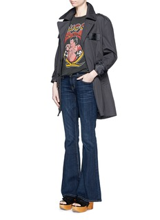 CURRENT/ELLIOTT'The Low Bell' flared jeans
