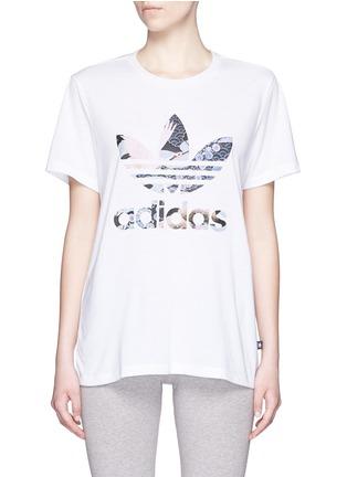 Main View - Click To Enlarge - Adidas - x Rita Ora scenic print T-shirt