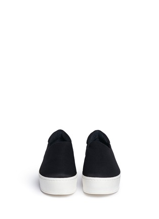 Front View - Click To Enlarge - Opening Ceremony - Twill flatform skate slip-ons