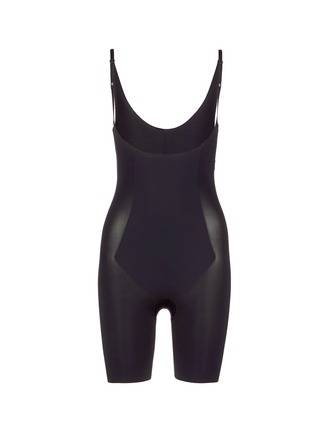 Main View - Click To Enlarge - Spanx By Sara Blakely - 'Thinstincts' open bust mid thigh bodysuit