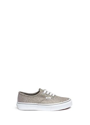 Vans-'Authentic' glitter textile kids sneakers