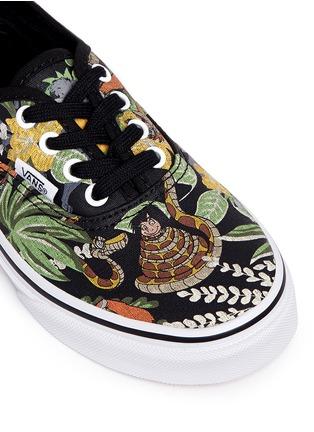 Vans-x Disney 'Authentic' The Jungle Book print canvas kids sneakers