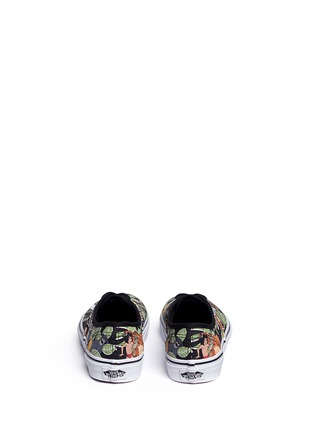 Back View - Click To Enlarge - Vans - x Disney 'Authentic' The Jungle Book print canvas kids sneakers