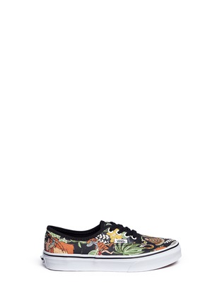 Main View - Click To Enlarge - Vans - x Disney 'Authentic' The Jungle Book print canvas kids sneakers